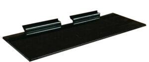"""4"""" x 10"""" Acrylic Shelf Black"""